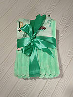 Детский плюшевый плед (одеяло для младенцев) Minky для мальчика без утеплителя 75*100 см