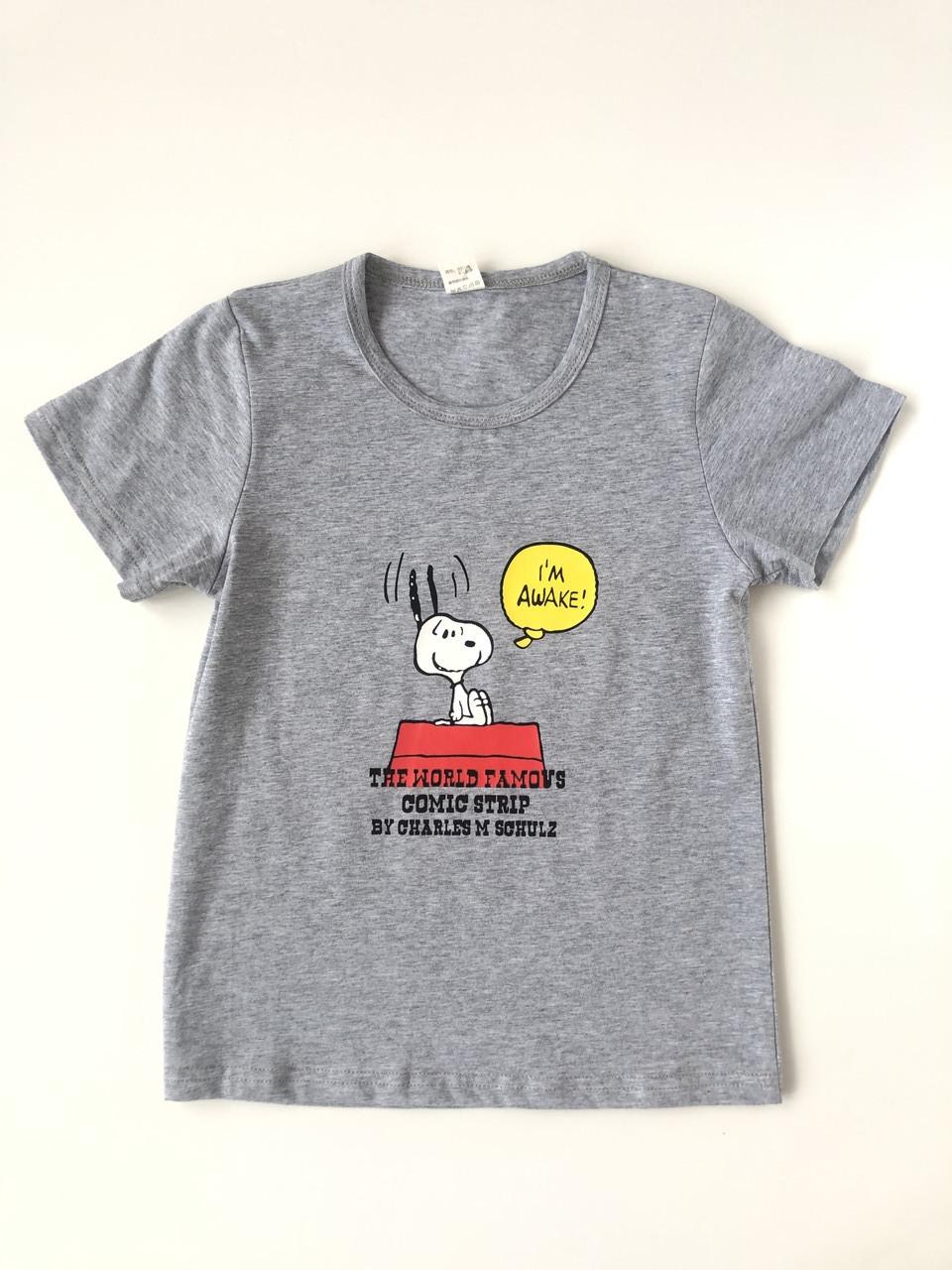 Дитяча футболка для хлопчика СНУПІ