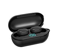 Вакуумные наушники и гарнитура беспроводные Bluetooth блютуз Н6 для телефона. Бездротові вакуумні навушники
