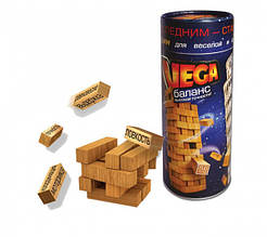 """Настольная увлекательная игра """"Vega"""" игра Джанга, башня, игра для компании, деревянные бруски"""