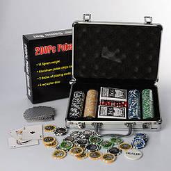 Карточный набор для игры в покер, M 2779 в чемодане