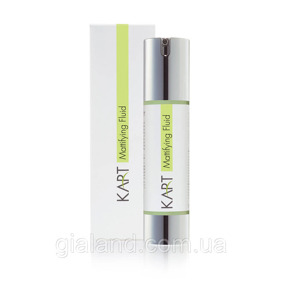 Увлажняющая матирующая эмульсия для жирной кожи KART Clear & Matte Mattifying Fluid
