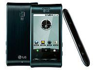 Корпус LG GT540 Optimus черный, High Copy