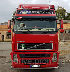 Захист переднього бампера (ус одинарний) Volvo FH 2002-2012