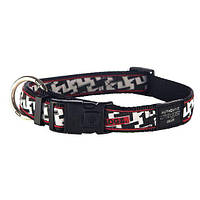 Ошейник для собак, черно-белый Fancy Dress Hound Dog (Рогз)M: 26-40 см