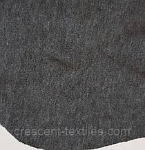 Трикотаж Хлопок  Кулир (Темно-Серый Графит)