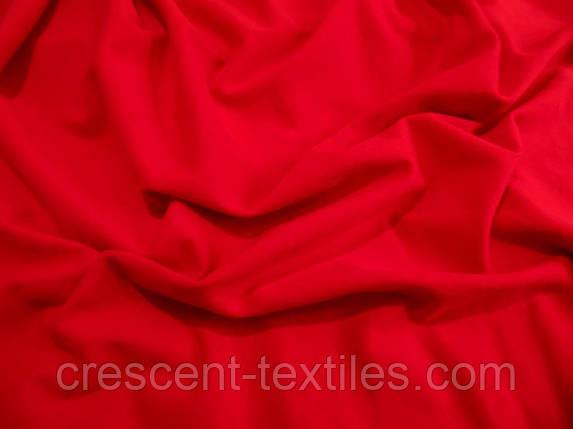 Трикотаж Хлопок  Кулир (Красный), фото 2