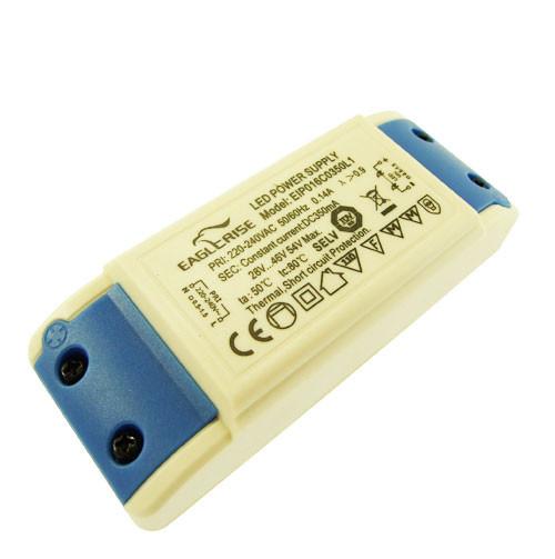 Драйвер світлодіода 350мА 16Вт 28-46вольт блок живлення EIP016C0350L1 IP20 5420о