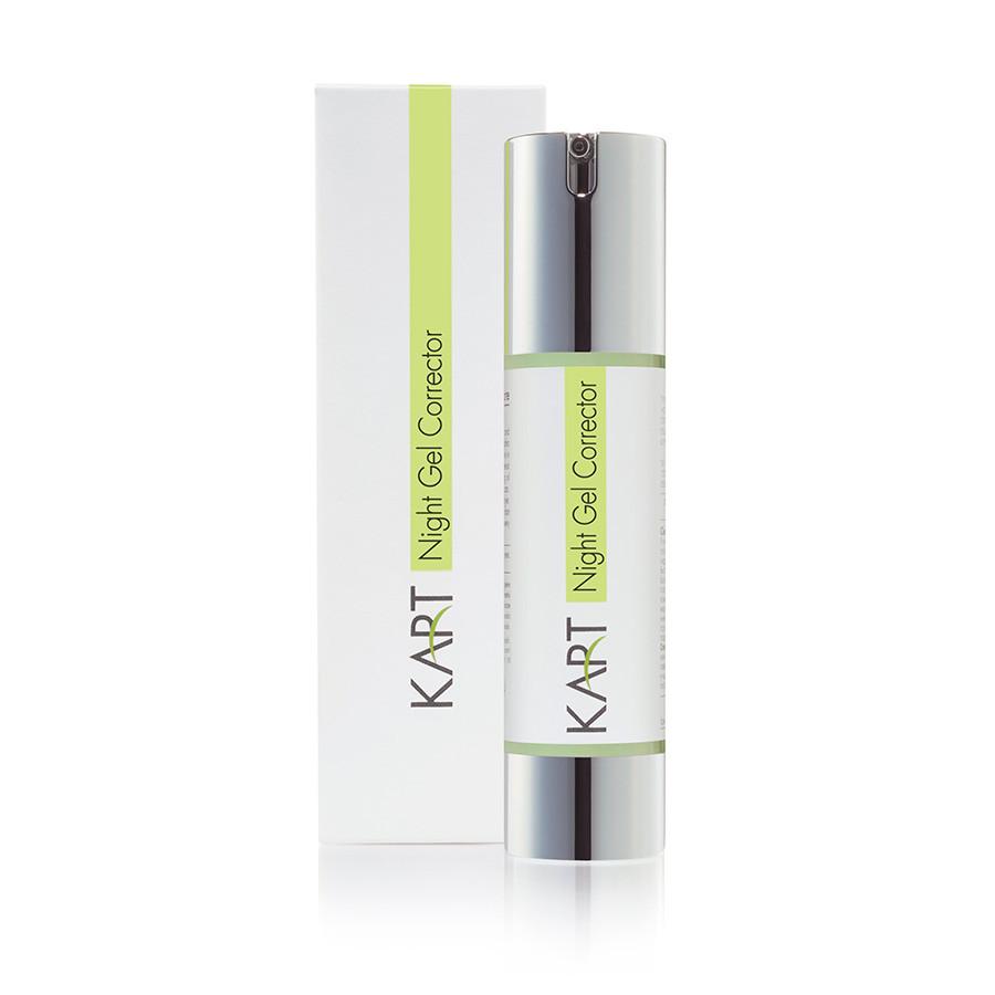 Корректирующий ночной гель для жирной кожи KART Clear & Matte Night Gel Corrector