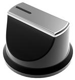 Sistema 6410 P03-K05 (600 мм.) газовая варочная поверхность цвет черное закаленное стекло, фото 2