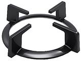 Sistema 6410 P03-K05 (600 мм.) газовая варочная поверхность цвет черное закаленное стекло, фото 3