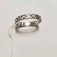 Кольцо из серебра родированное Бриг, фото 1