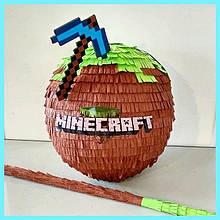 Піньята - МайнКрафт. MineCraft. Є розміри. Медаль в ПОДАРУНОК .