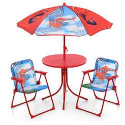 Столик 93-74-SP диам.50см, стульчик 2шт, зонтик(рег.высота), СП