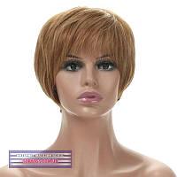 Парик из натуральных волос Silvia HH мелировка русого цвета