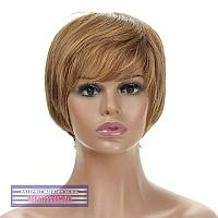 Парик из натуральных волос Silvia HH мелировка светло-русого цвета