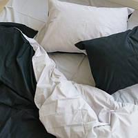 Постельное белье поплин Черно-Белый микс