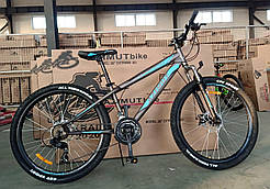 "Велосипед Extreme 24"" GFRD горный, серый"