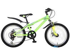 """Велосипед горный алюминиевый Crosser Bright-1 20"""" зеленый"""