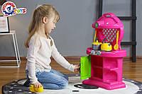 Кухня 10 игрушечная с набором посуды технок 2155