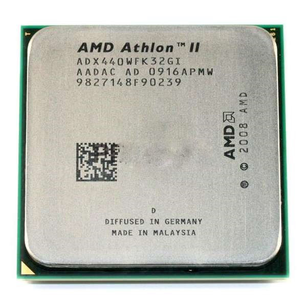 Процессор AMD Athlon II X3 440, 3.0 GHz, sAM3, tray