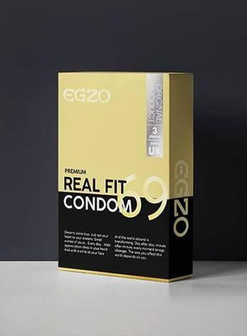 Плотнооблегающие презервативы EGZO Real fit (упаковка 3 шт), фото 2