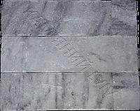 """Плитка руст из испанского мрамора 10см x  L """"DIAS GREY"""" KLVIV уп. 0.34 м.кв."""