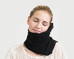 Подушка-шарф для путешествий Travel Pillow Supretto Черный (5071-0002)