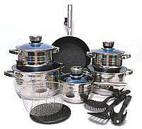 Набор посуды Bohmann BH-1800 MRB 18 предметов