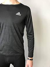 Кофта  спортивная  компрессионная мужская  Adidas Адидас  (S,M, L,XL), фото 3