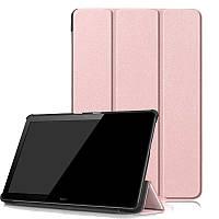 Чехол HUAWEI MediaPad T5 10.1 Moko ultraslim rose gold