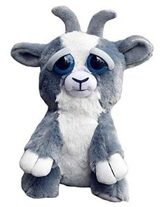 Интерактивная игрушка Feisty Pets Добрые Злые зверюшки Плюшевый Козлик 20 см (0141_7)