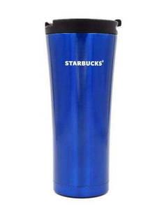 Термокружка Starbucks (Старбакс) 500 мл синяя