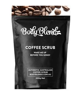 Кофейный скраб для тела Body Blendz от целлюлита и растяжек 100 грамм