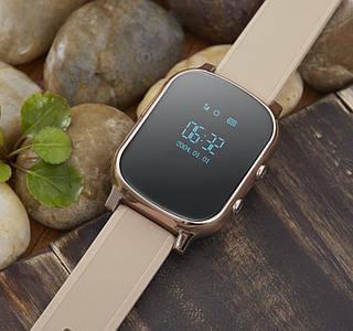 Умные часы с трекером Smart GPS Watch T58 Gold для подростков, взрослых и пожилых людей