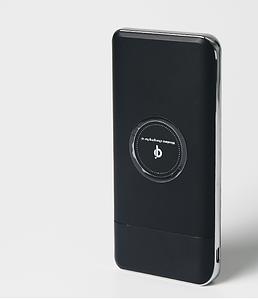 Универсальное зарядное устройство SUNROZ QI Power Bank с беспроводной зарядкой LCD дисплей 10000mAh
