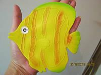Рыбка круглая желтая. Мини-коврики оптом, фото 1