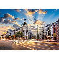 Пазл 1500 элементов / Мадрид-Calle de Alcala