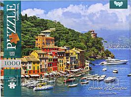 Пазл 1000 елементів / Італія - гавань Портофіно