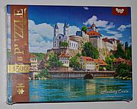 Пазл 1500 элементов / Крепость-замок ААрбург (Швейцария)