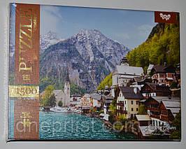 Пазл 1500 элементов / Альпийский город (Австрия)