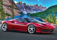 Пазл 1500 элементов / Спортивное авто (Озеро Морейн, Канада)