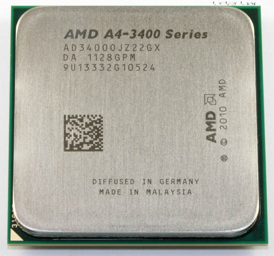 Процессор AMD A8-Series A4-3400, 3.2 GHz, sFM1, tray