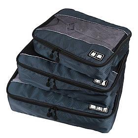 Набор органайзеров для путешествий Bagsmart Серый (FBBM0104004AN008BS)