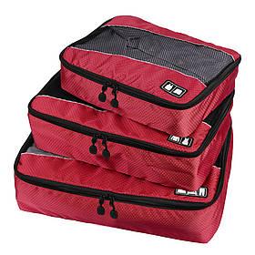 Набор органайзеров для путешествий Bagsmart Красный (FBBM0104004AN021BS)