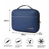 Органайзер для электроники Bagsmart Синий (FBBM0101099AN005BS), фото 5