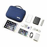 Органайзер для электроники Bagsmart Синий (FBBM0101099AN005BS), фото 8