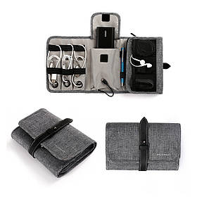Органайзер для электроники Bagsmart LAX Серый (FBBM0200077A008BS)