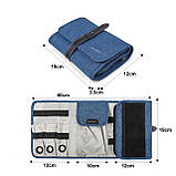 Органайзер для электроники Bagsmart LAX Синий (FBBM0200077A031BS), фото 10