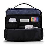Органайзер для электроники Bagsmart Синий (FBBM0101081AN005BS), фото 3